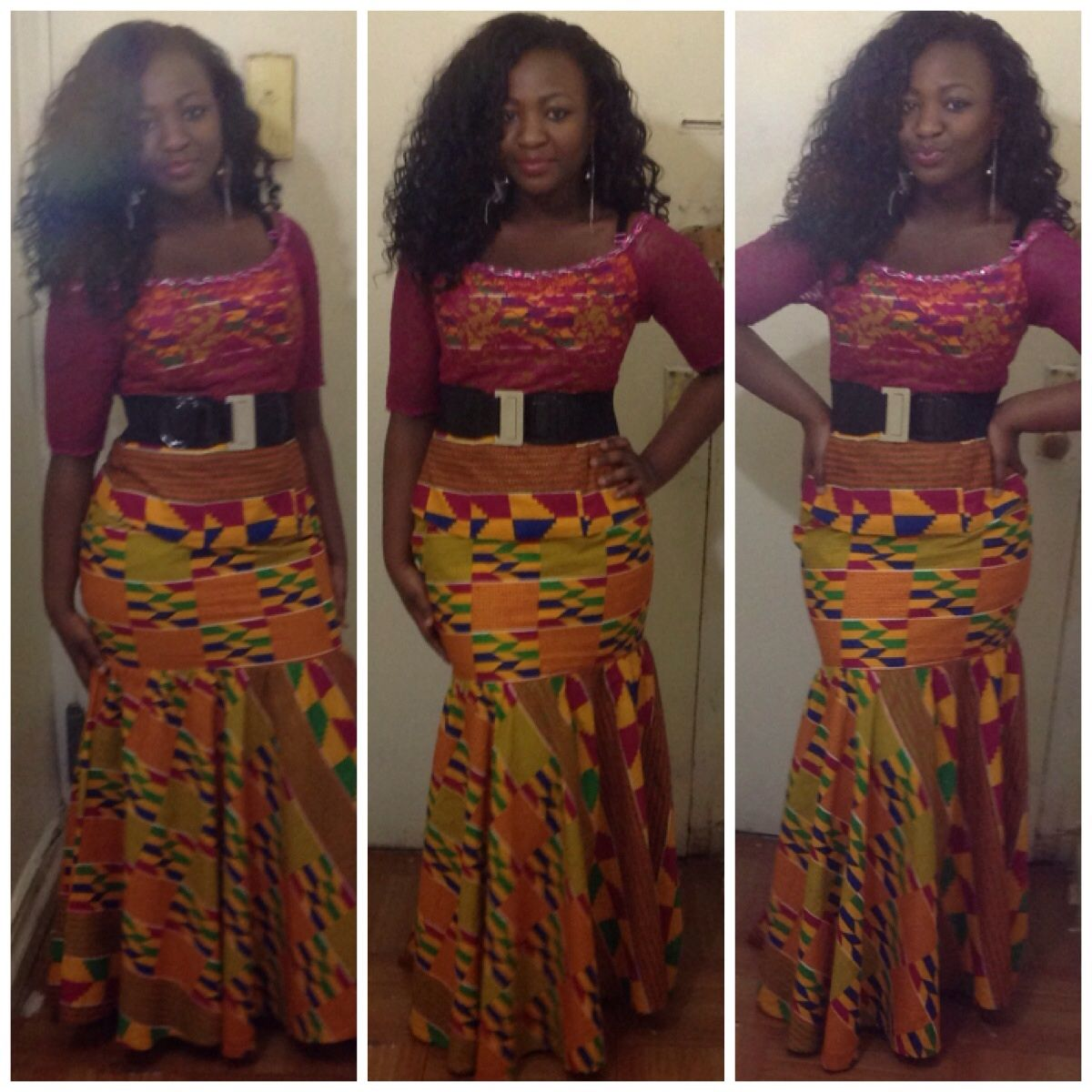 African style. Beautiful kente