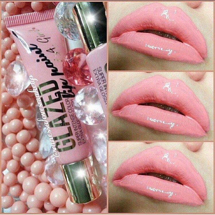 La girl glazed lip paint in peony Lip paint