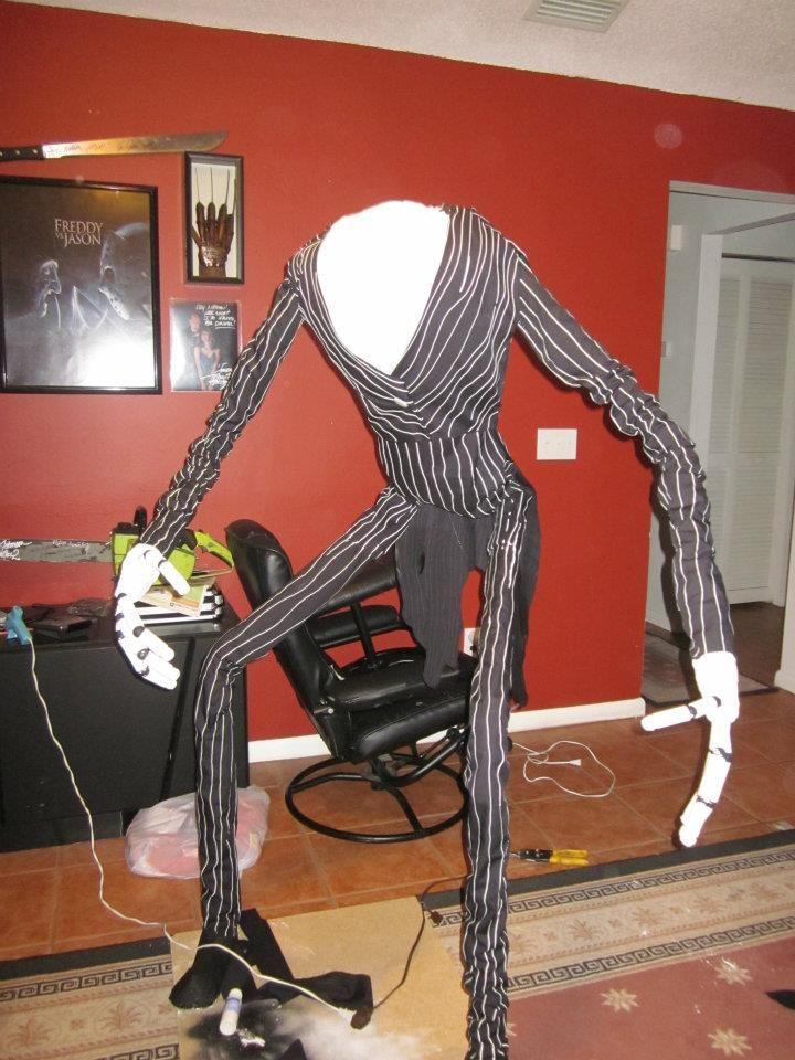 Life Size Jack DIY Halloween Pinterest Jack skellington - life size halloween decorations