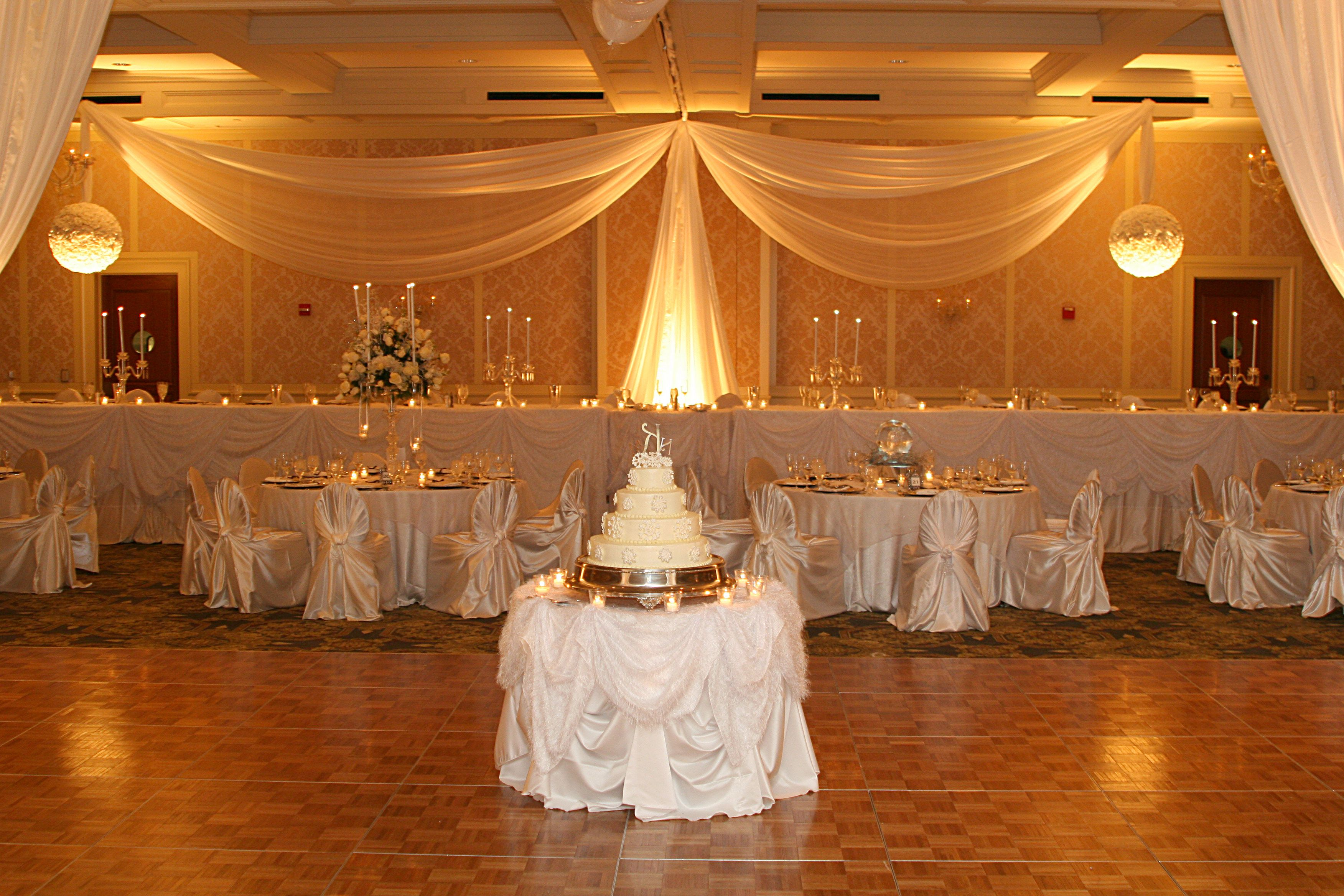 ceremony how indoor drapes pin aromabotanical transform moncheribridals romantic to your at we drapery wedding beautiful with white this aisle com