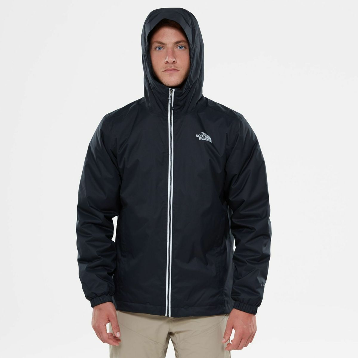 The North Face Quest Insulated Waterproof Hooded Men S Jacket Nwt Msrp 199 Regular L Tnf Black Jackets Men S Coats Jackets The North Face