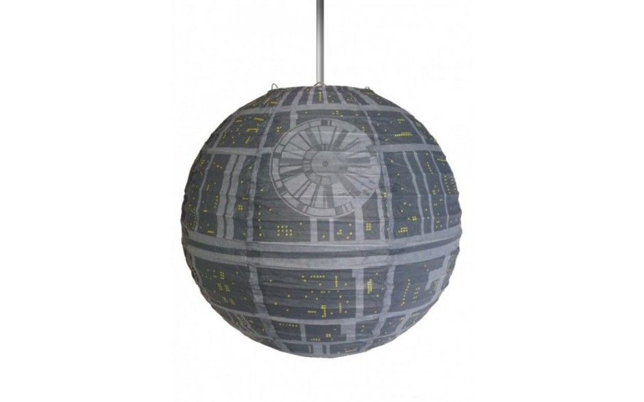 Star Wars Death Star Lampeskjerm - AlphaGeek