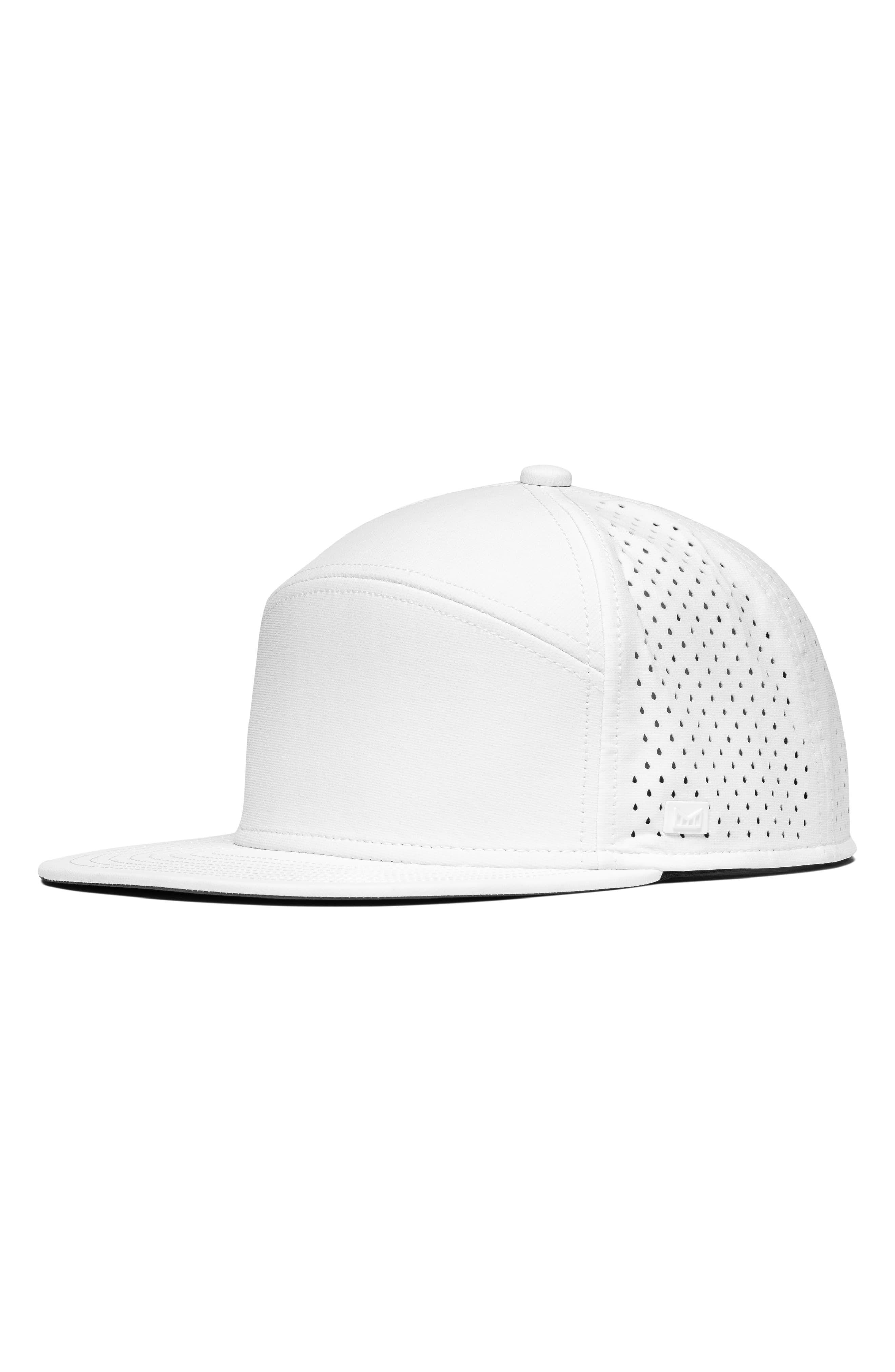 newest 529f0 281d9 Men s Melin Hydro Trenches Snapback Baseball Cap - White