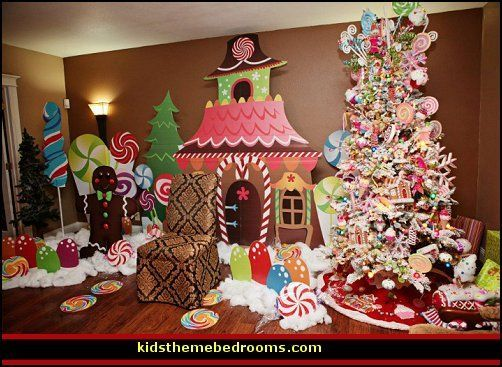 Diy Santas Village Buildings Google Search Cookies And Cocoa - Christmas theme decorating ideas