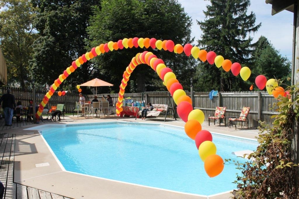 Outdoor Pool Party