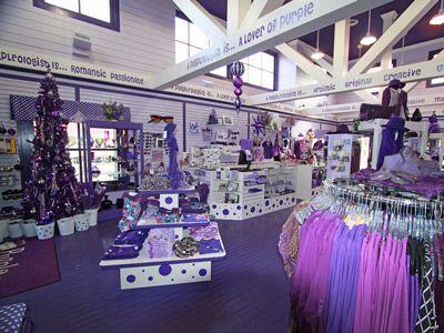 Purpleologist Retail Store Location And Directions To Your Purple Store Purpleologist Com Purple All Things Purple Purple Love
