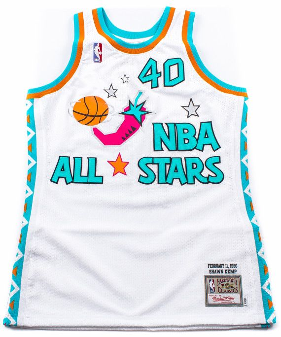 e807abe43 PACKER SHOES X MITCHELL   NESS – 1996 NBA ALL-STAR GAME JERSEY – SHAWN KEMP  EDITION