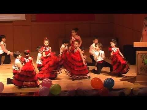 23 Nisan Ispanyol Dansi Gosterisi Gosteri Musamere Tv Ispanyolca Ilkogretim Okullari Okul