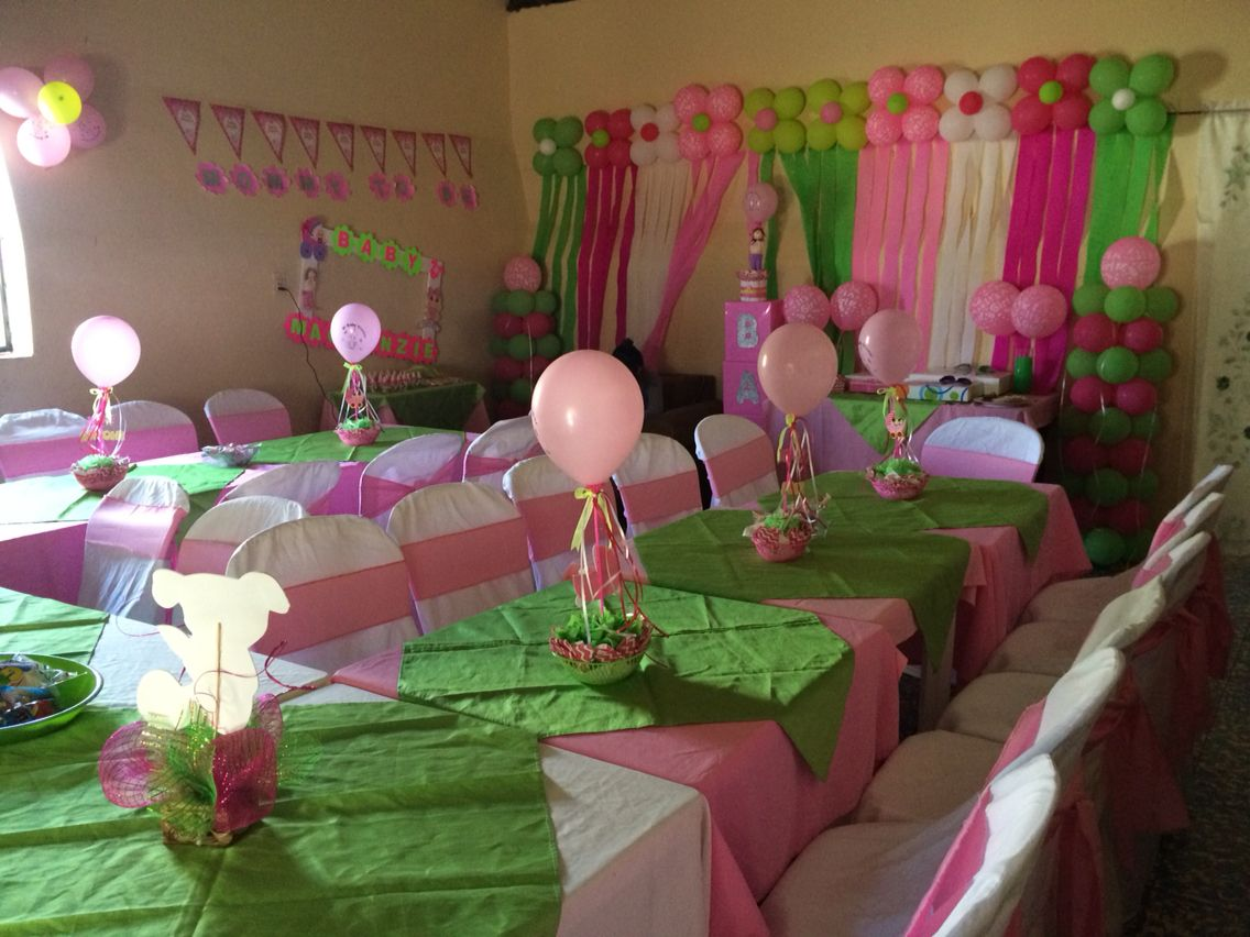 Baby shower decoración