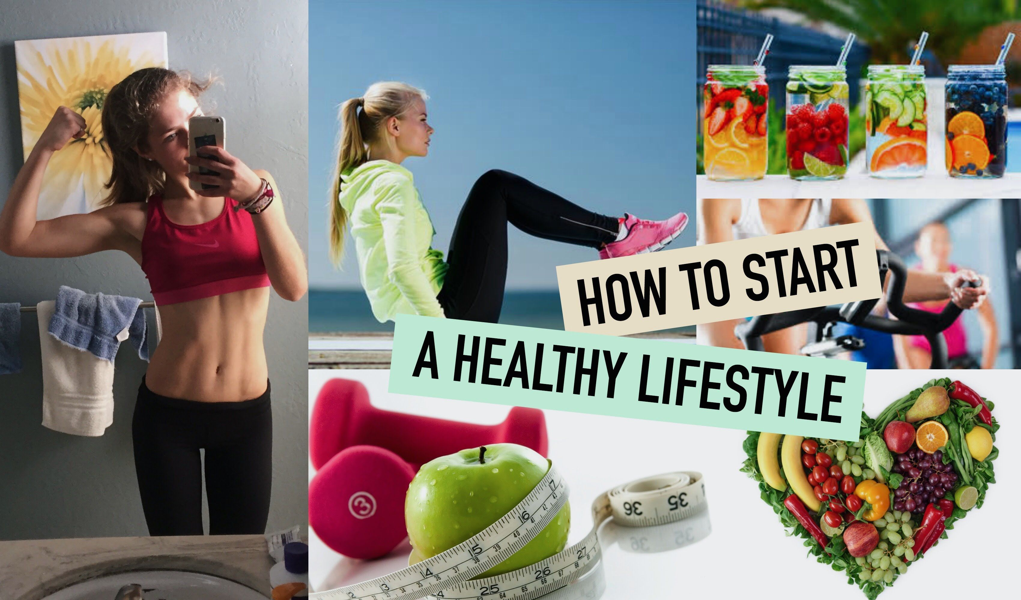 HOW TO START A HEALTHY LIFESTYLE + HOW I STAY FIT | Mel ...