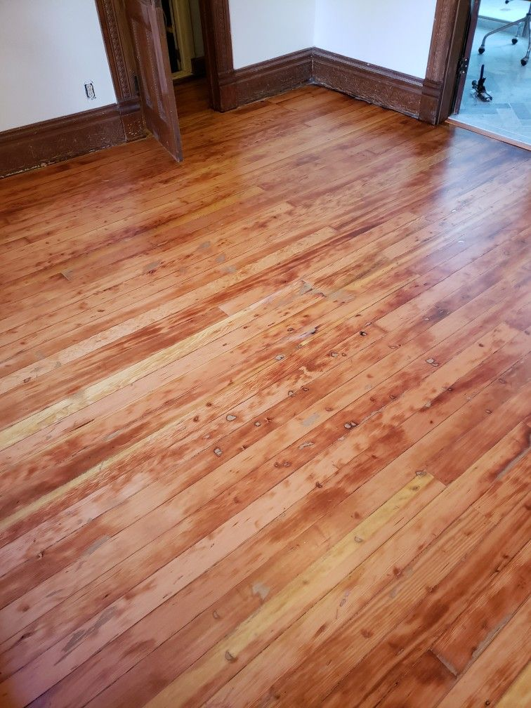 Pin By Modern Tech Wood Floors On Fir Floor Refinishing Projects That I Ve Done In Portland Oregon Refinishing Floors Flooring Hardwood Floors
