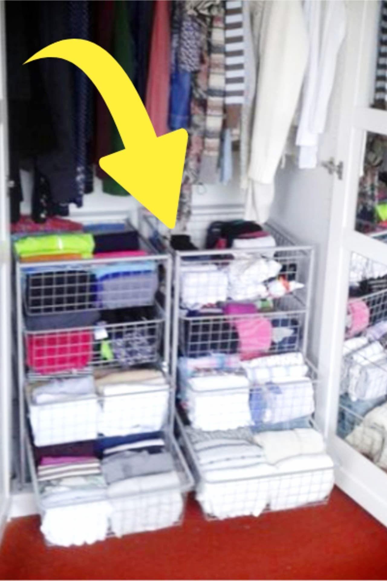 Dorm Room Closet Organization Ideas 35 Space Saving Dorm Closet
