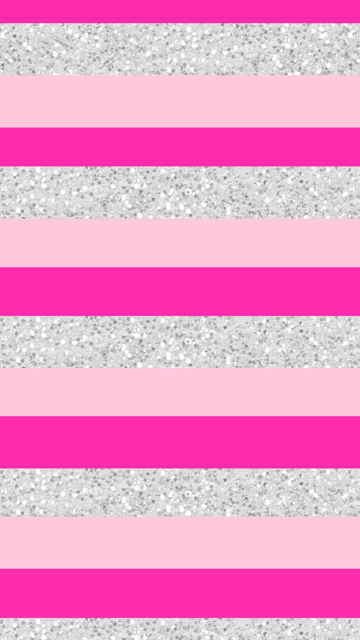 Pink striped wallpaper hd - Wallpaper Background Iphone Android Hd Pink Silver Glitter