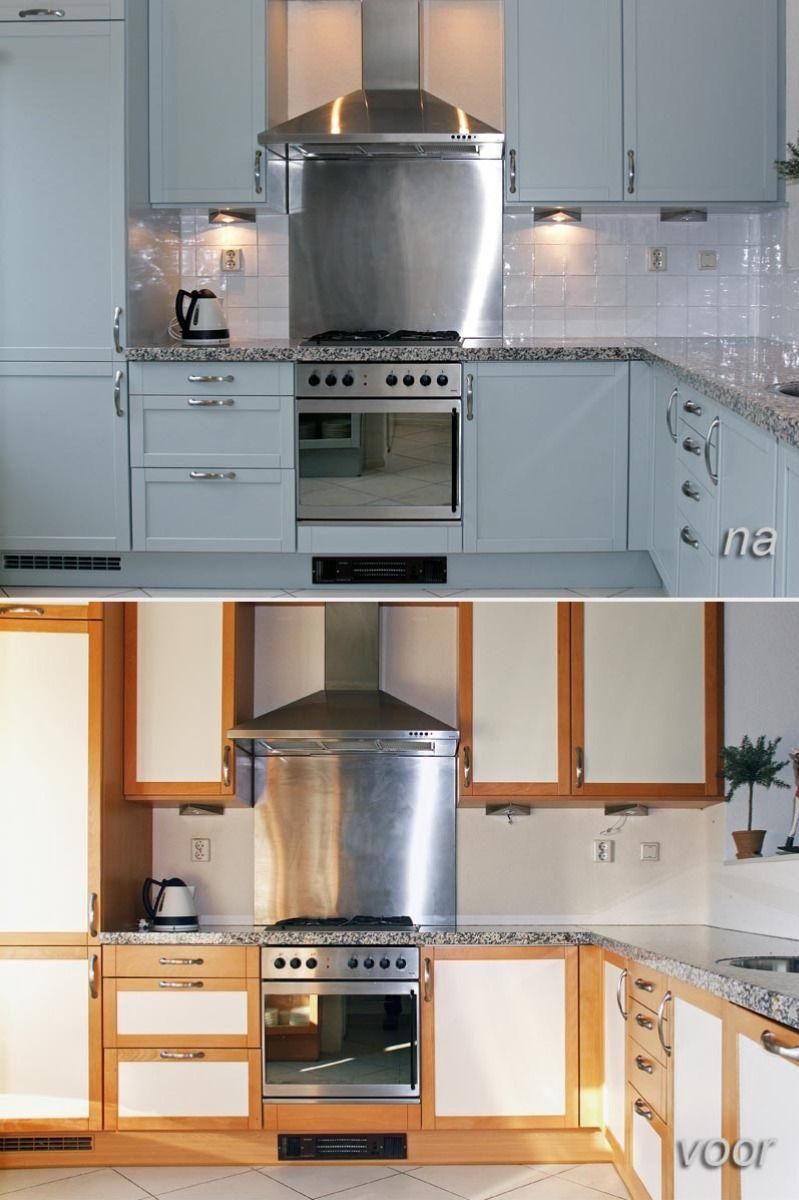 Verbazingwekkend Keuken opknappen | Keuken opknappen, Keuken, Keuken pimpen ZU-32