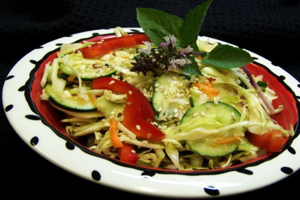 Thai Slaw Salad. Photo by PaulaG
