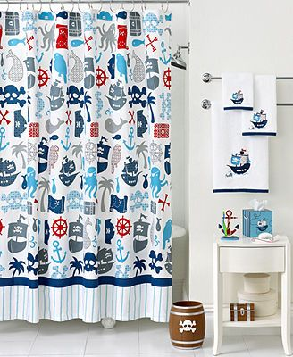 Boys Bathroom Ideas Kassatex Bath Pirates Collection For The