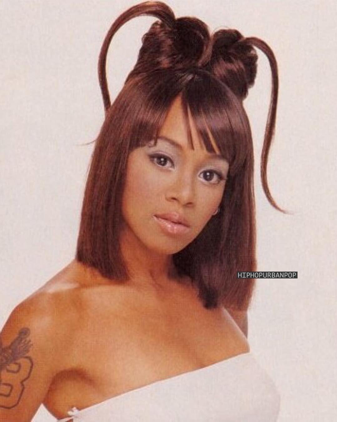 The Vault Circa 90s 00s On Instagram Left Eye In Black Hair Magazine 1999 Lefteye Black Hair Magazine Black Hair 90s Hair Magazine