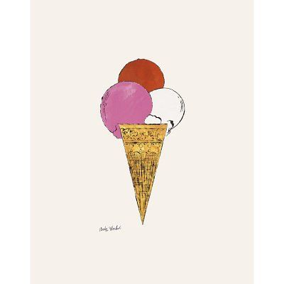 Andy Warhol Pink Ice Cream