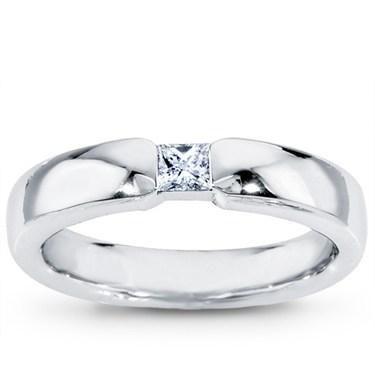 Simple Modern And Masculine Yes Platinum Single Diamond Mens Wedding Band From Adiamor