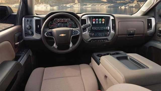2016 Chevrolet Silverado Trucks Interior Picture