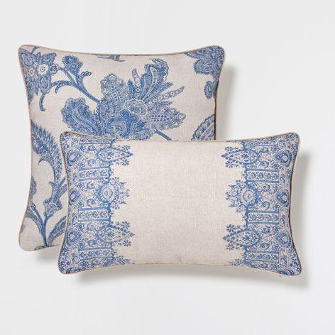 coussin cachemire coussins lit zara home belgique d co agde pinterest coussin lit. Black Bedroom Furniture Sets. Home Design Ideas
