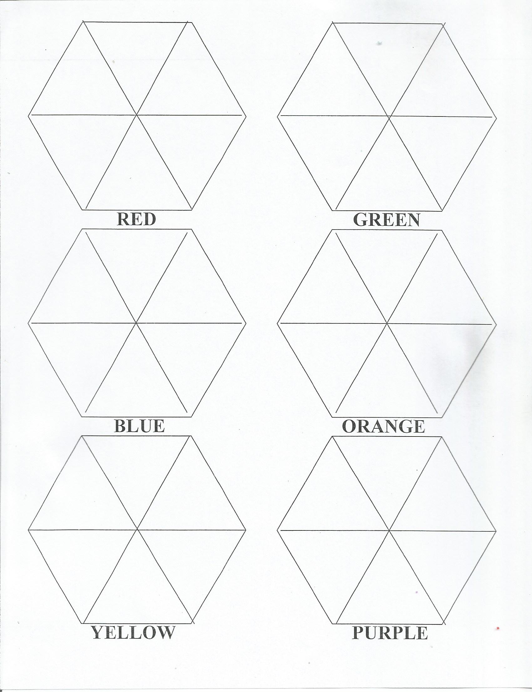 Color Values Worksheet