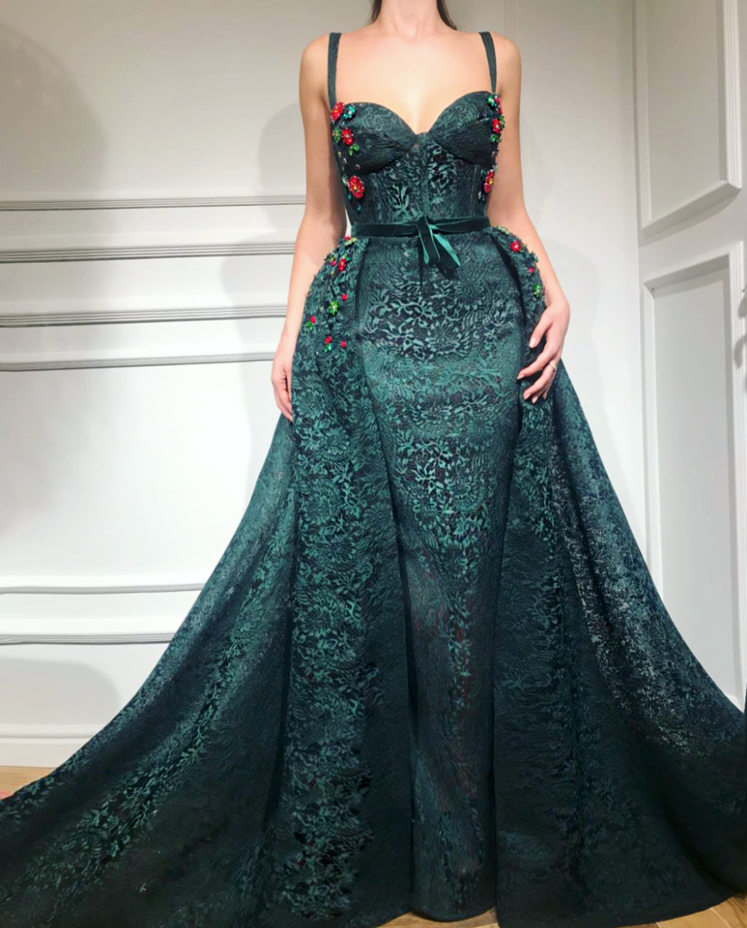 Jericho Jade TMD Gown | Jade, Gowns and Big dresses