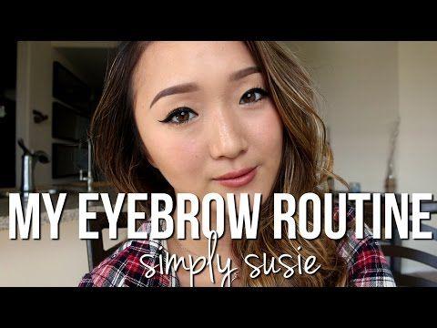 eyebrow routine  natural gradient eyebrow using anastasia