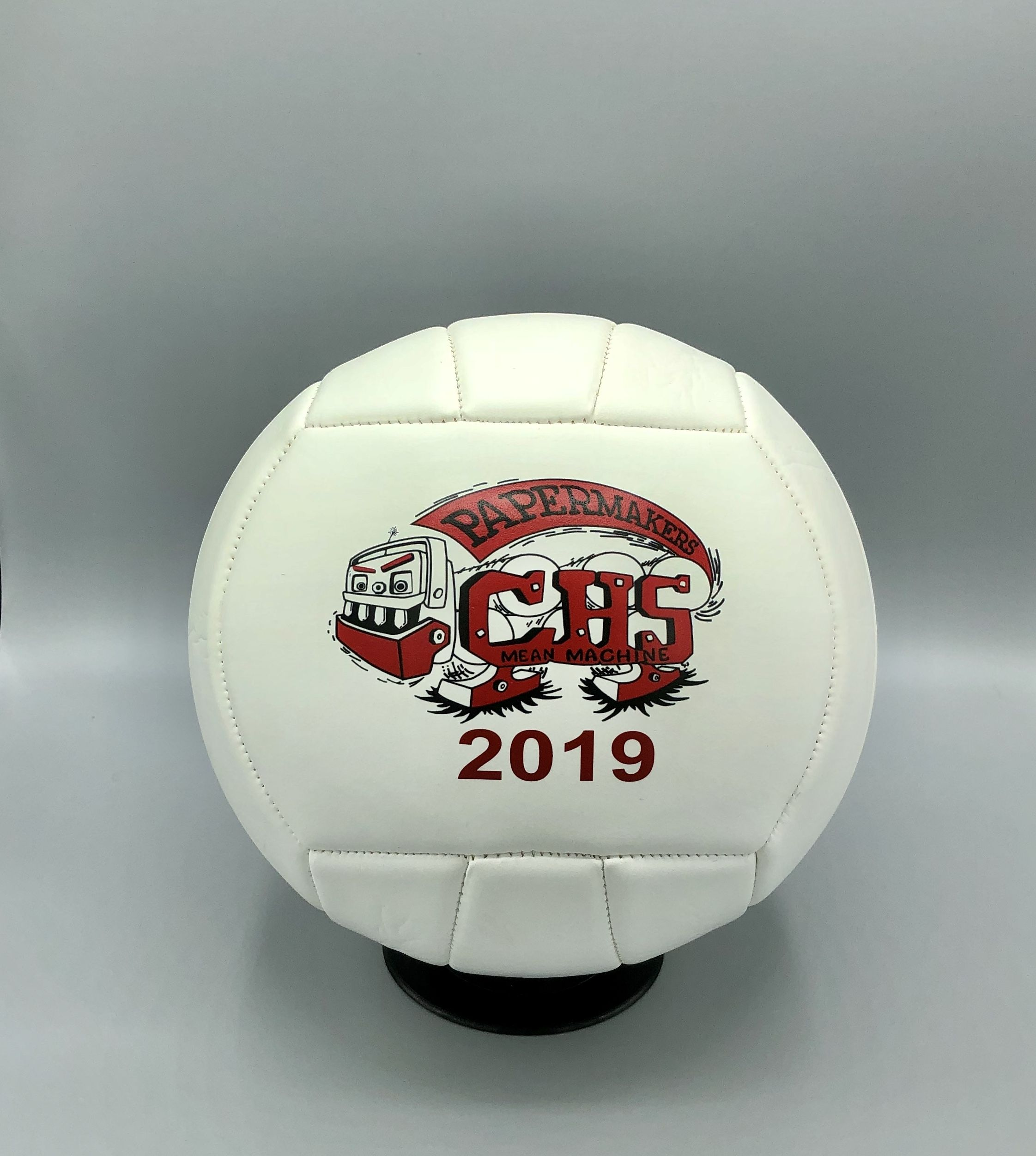 How Cute Is This Volleyball With The Team Logo And Year On One Side And The Team Photo On The Other Vol Volleyball Gifts Volleyball Coach Gifts Sports Gifts