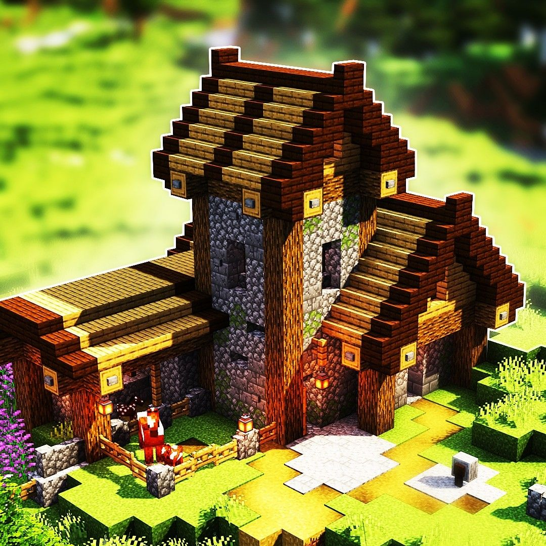 Village House Minecraft Minecraft Village House
