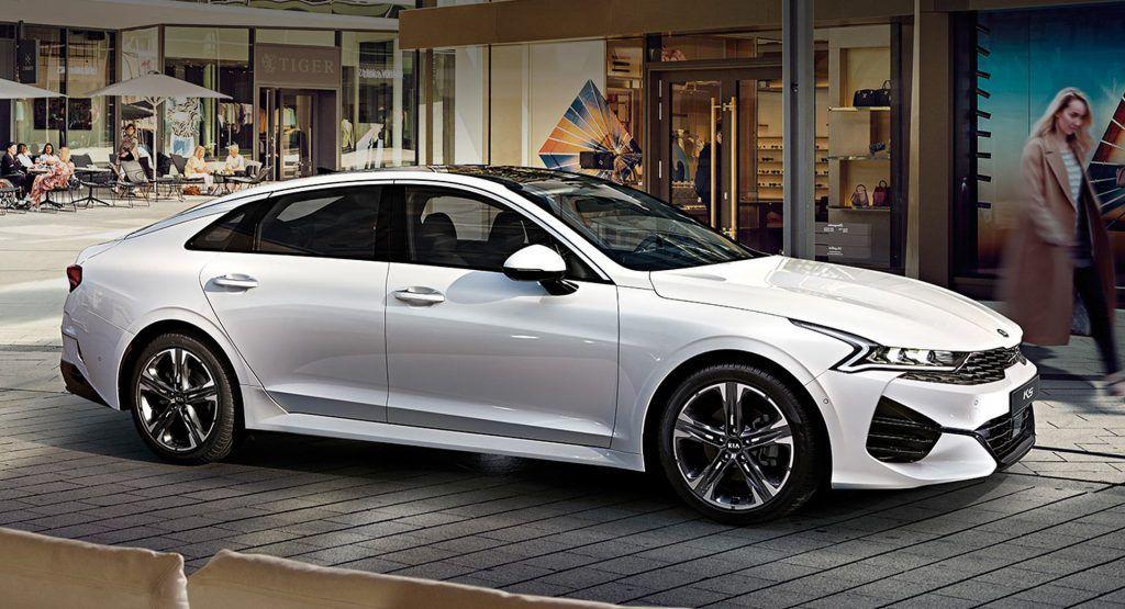 2021 Kia K5 Optima Gets Awd And High Performance Gt Model With 286 Hp Carscoops 2021 Kia K5 Optima Gets Awd And High Perf In 2020 Kia Optima Kia Kia Optima K5
