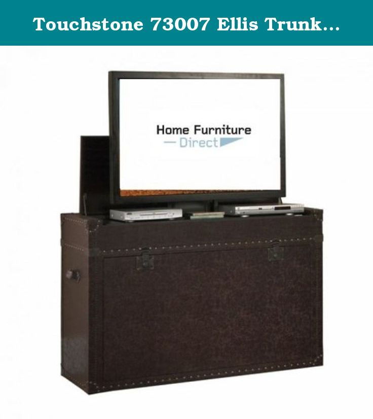 Touchstone 73007 Ellis Trunk Bedroom TV Lift Cabinet,TVs Up To 46 Inches,  Steamer