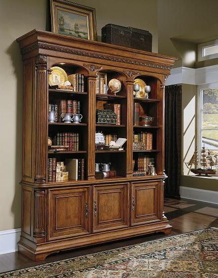 Discontinued Hooker Bedroom Furniture. Beautiful Furniture Hooker Furniture  Villa Florence Bookcase Base And Hutch Discontinued