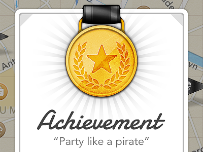 Party like a pirate. by Rasmus Nielsen, on dribbble