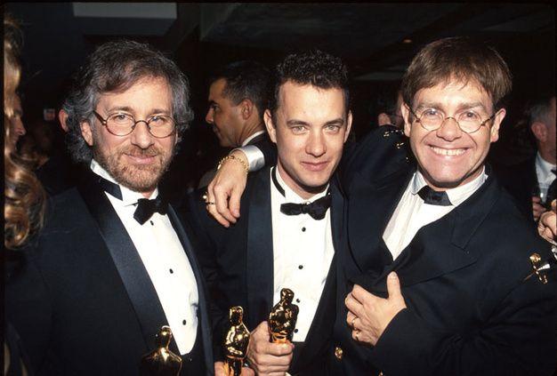 66ème cérémonie des Academy Awards, 1994 - #EltonJohns #TomHanks #Philadelphia #StevenSpielberg