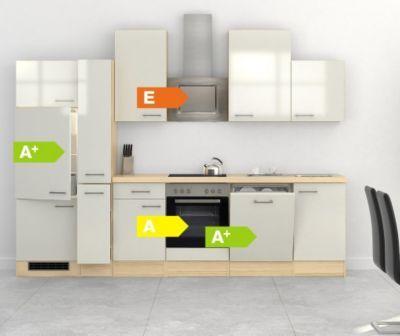 Flex-Well Küchenzeile 310 cm G-310-2601-015 Abaco Jetzt bestellen - küchenzeile 240 cm mit geräten