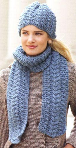 Noggins Necks Crochet Hat Scarf Sets Fisherman Patterns Crochet Hats Hat And Scarf Sets Crochet