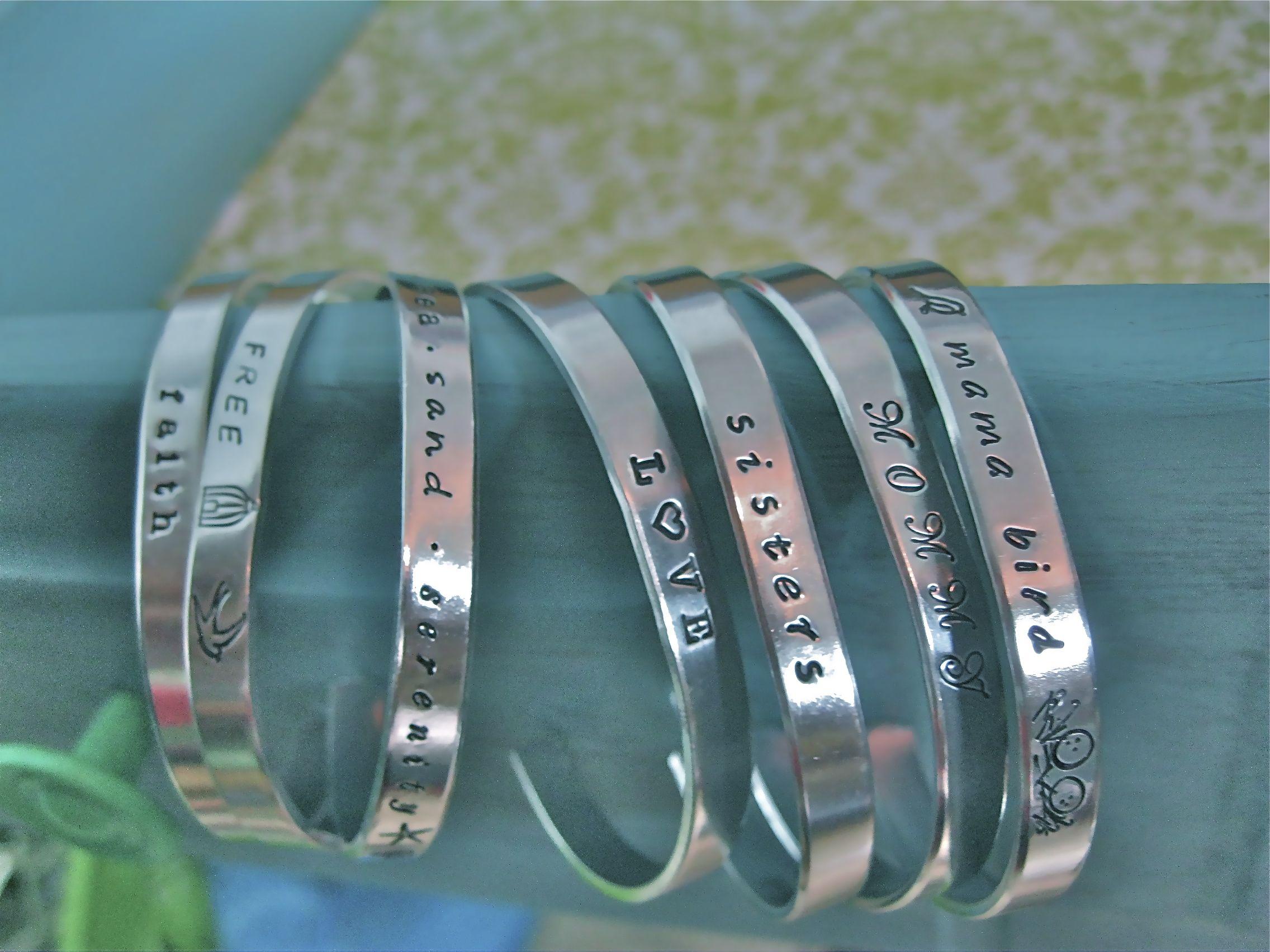 Personalized Cuff Bracelet Google Search