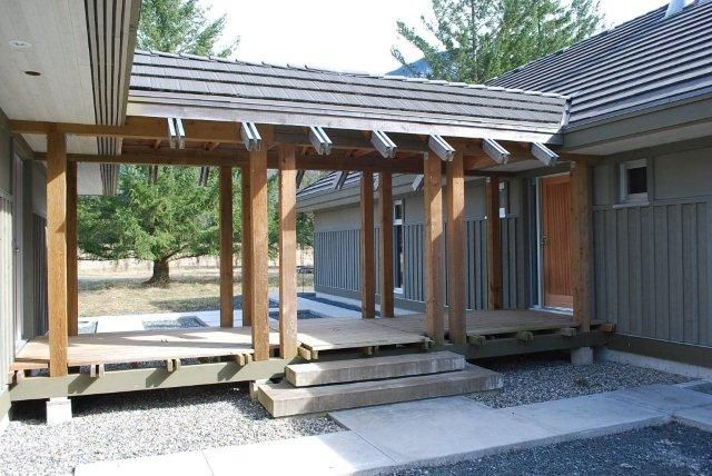 Residential Covered Walkways Covered Walkway Connecting