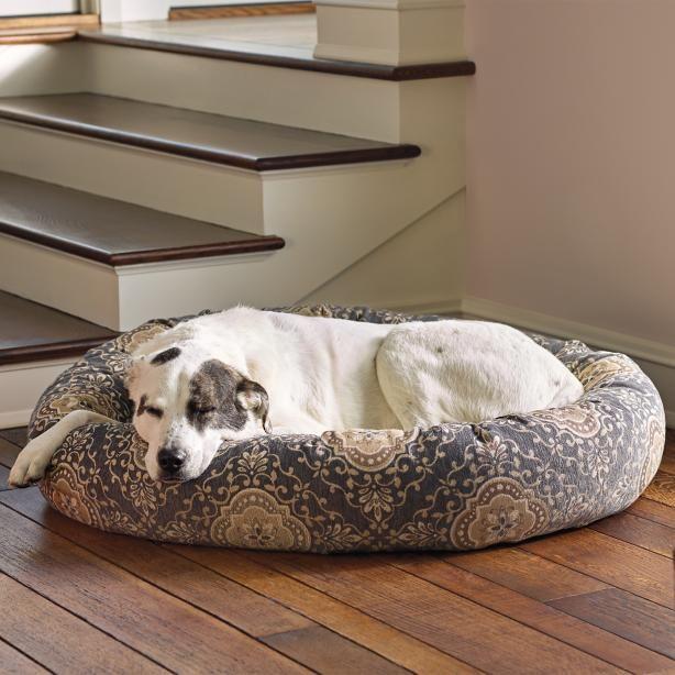 Ashton Patterned Donut Pet Bed Designer Dog Beds Designer Pet Beds Pet Bed