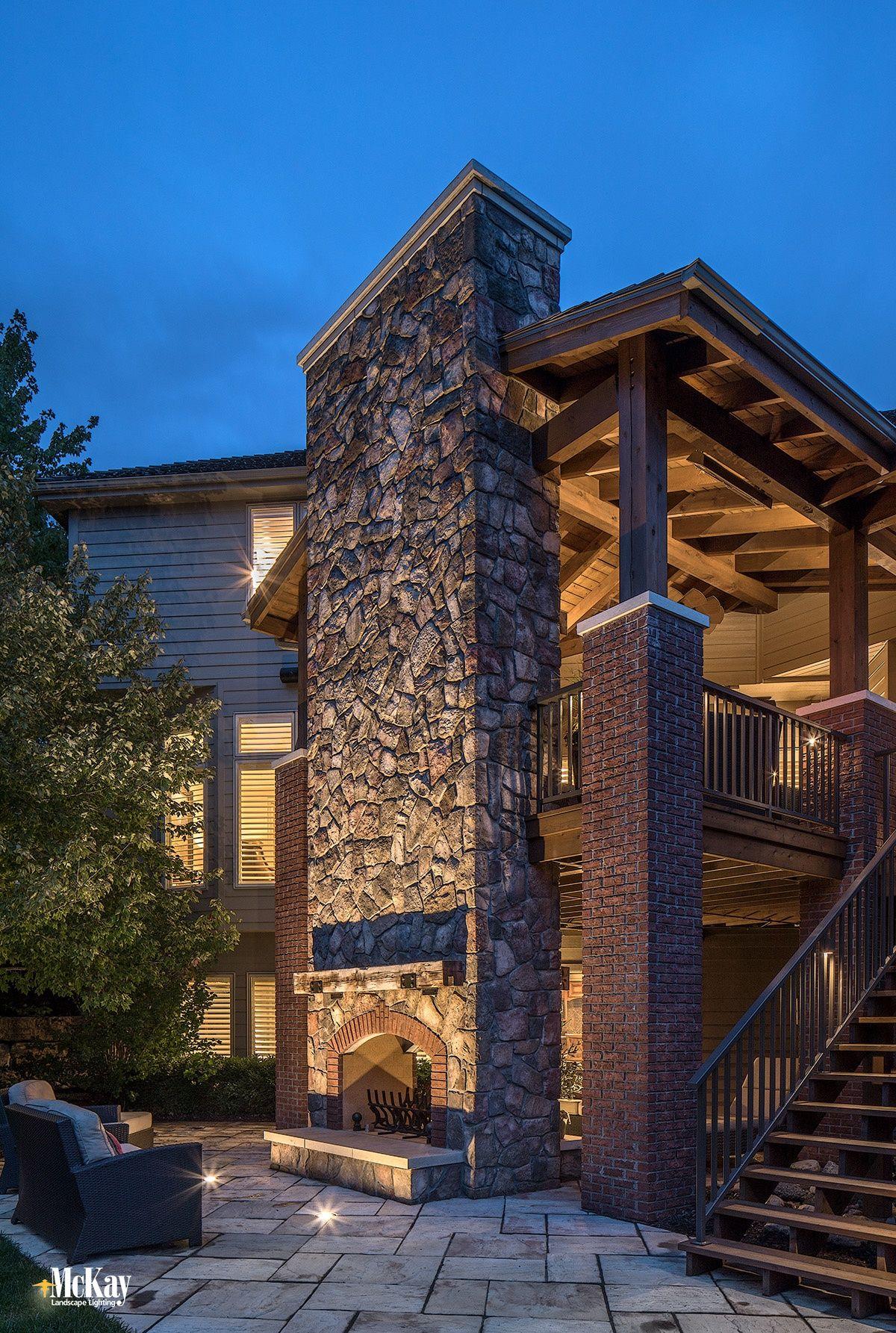 An Omaha Deck Patio Gets A Landscape Lighting Refresh