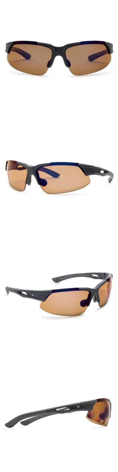 14a4d086a57f Sport Protective Eyewear 158938: Callaway Peregrine Golf Sunglasses (Matte  Black Brown Polarized) -