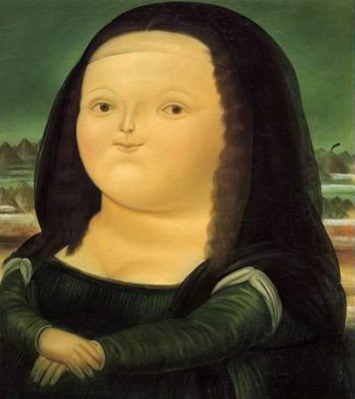 Beliebt Joconde - Botero | femme, Joconde | Pinterest | Joconde, Peinture  JD73