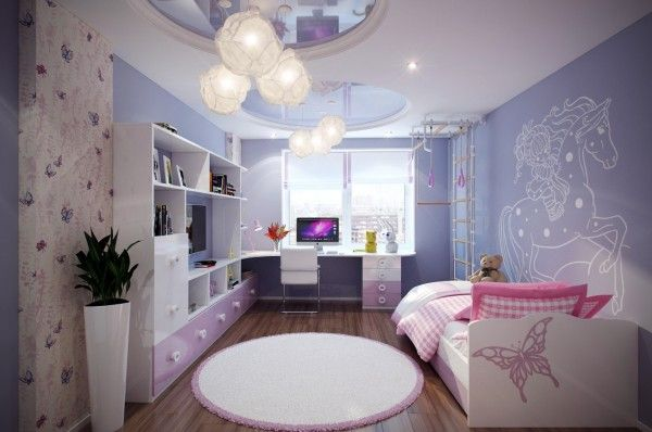 Casting Color Over Kids Rooms Bedroom Design Inspiration Girl Bedroom Designs Girls Bedroom Lighting