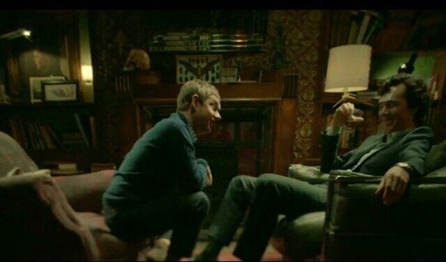 Drunk Sherlock and John to CUTE