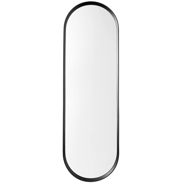 Menu's Norm wall mirror is a contemporary take on vintage dressing mirrors. Norm Architects has created a minimalist reflector that has a simple oval design and a powder-coated metal frame. The Norm mirror can be hung both horizontally and vertically and makes an elegant addition to any hallway, bedroom and bathroom.