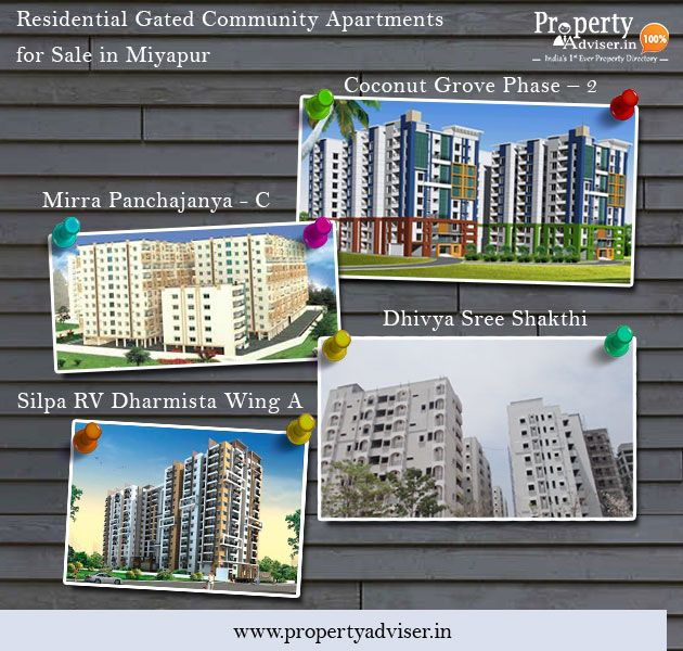 Residential Gated Community Apartments for Sale in Miyapur ...