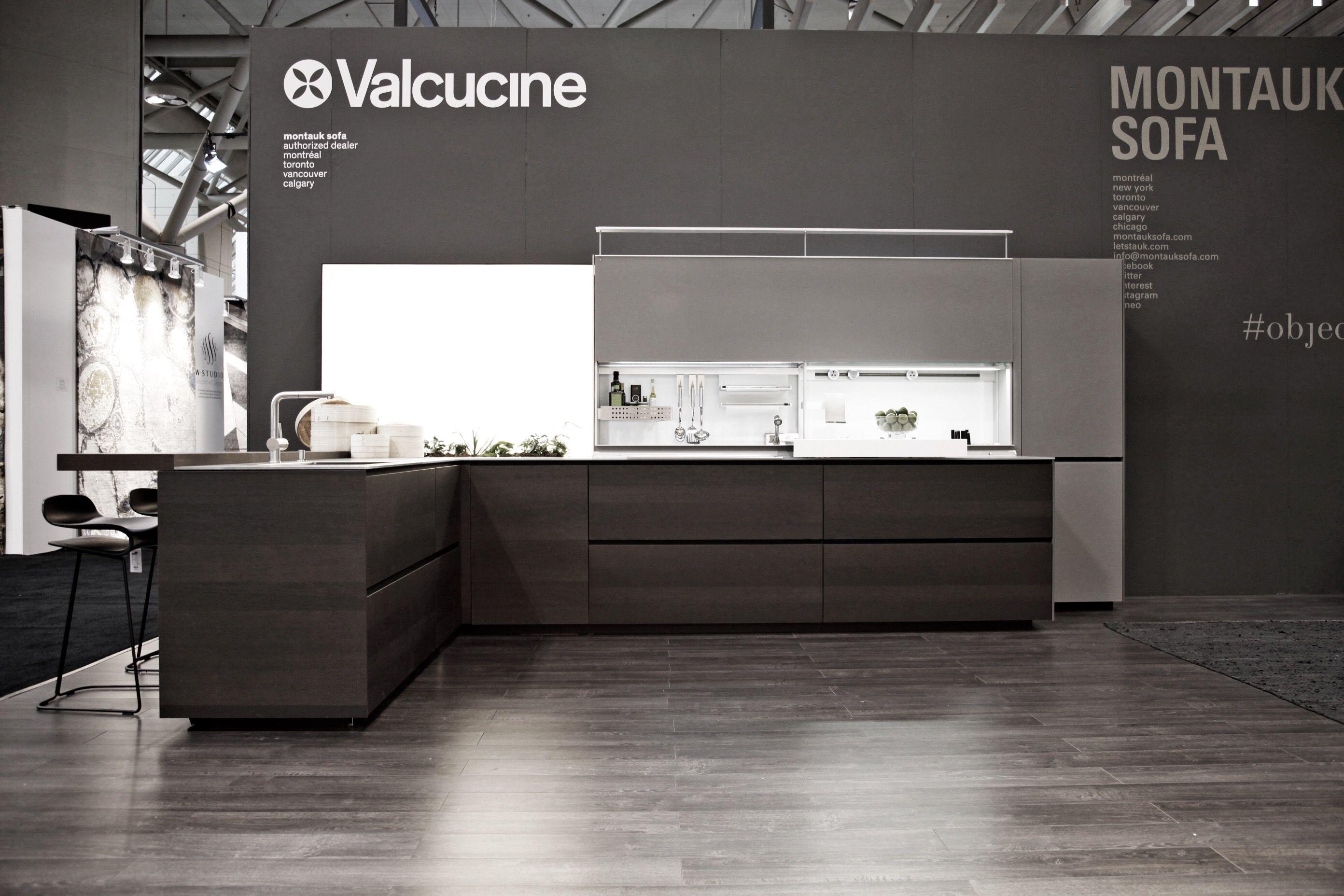 Montauk Sofa Introduces Kitchens By Valcucine Idstoronto