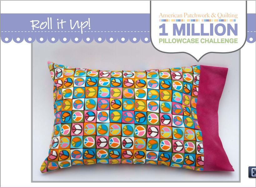 Burrito Style Pillowcase Mesmerizing ROLL IT UP HIDDEN SEAMS PILLOWCASE No Exposed Raw Seams Achieved By