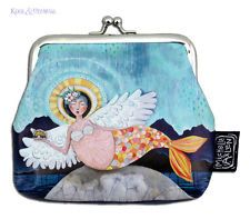 "Colourful ""Mer-Angel"" COIN PURSE by Allen Designs"